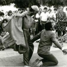Teatro no Largo da Praça, I Bienal Internacional de Arte de Cerveira, 1978
