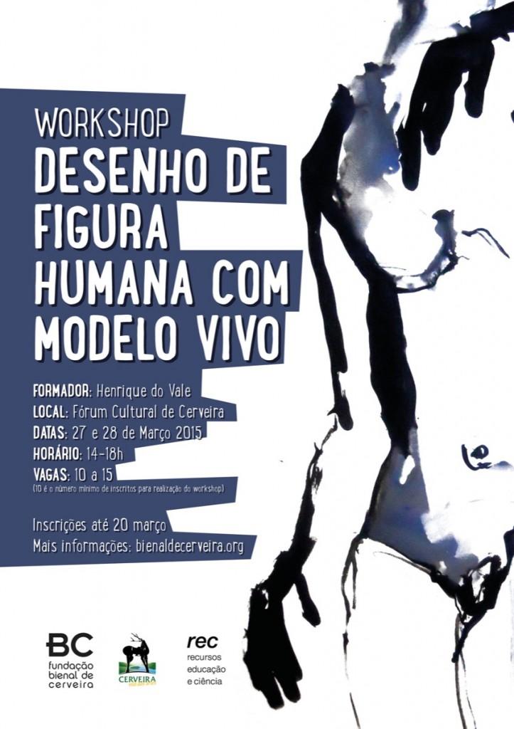 Workshop Desenho de Figura Humana com Modelo Vivo