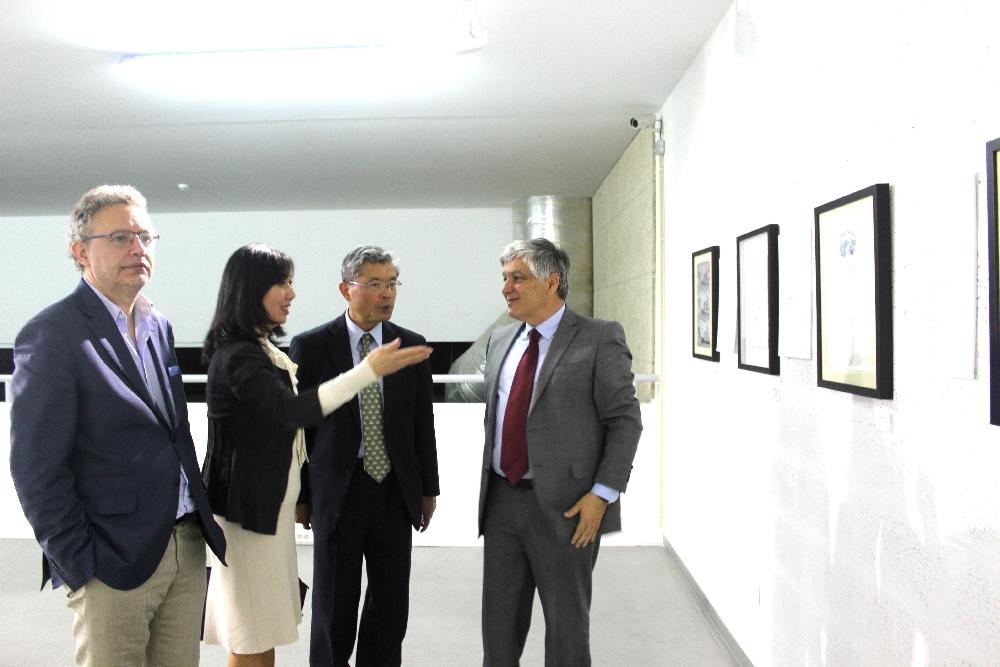 Embaixador do Japão em visita a FBAC
