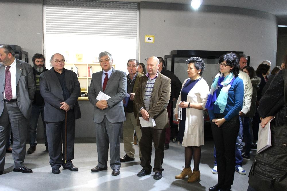 Inauguração exposições de homenagem a Eugénio de Andrade e António Victorino D'Almeida