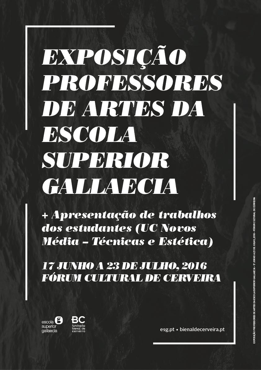 Exposição Professores ESG 2016