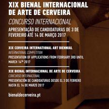Cartaz Concurso XIX Bienal