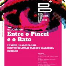 Bienal de Cerveira: primeira exposição inaugura esta quinta-feira em Ourense | Centro Cultural Marcos Valcárcel