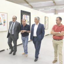 Individualidades visitam a XIX Bienal Internacional de Arte de Cerveira