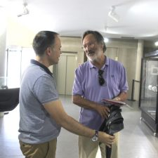 Visita de Alberto Martins, ex-deputado do Partido Socialista e antigo ministro de Sócrates e Guterres, 2017