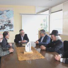 FBAC faz visita oficial a Cangas de Morrazo, Pontevedra