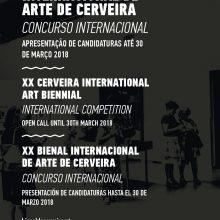 Concurso Internacional XX Bienal Internacional de Arte de Cerveira | Candidaturas até 30 março 2018!
