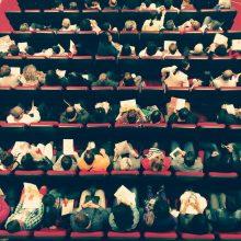 """Grupo de teatro amador """"Outra Cena"""" apresenta peça sobre os 40 anos da Bienal  de Cerveira  26 de maio, 21h30"""