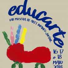 Fundação Bienal de Arte de Cerveira participa na VIII Mostra de Arte Infanto-Juvenil   16 a 18 de maio