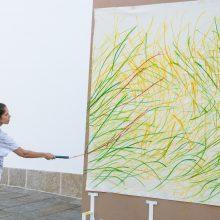 """Projeto """"40 anos, 40 artistas""""   VERA MARTINS: pintura e(m) ação"""