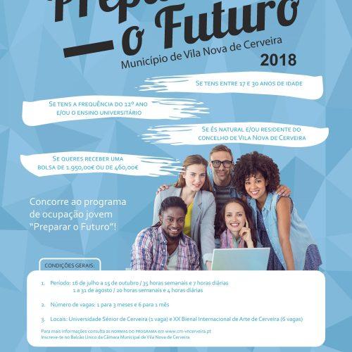 Programa Preparar o Futuro, 2018