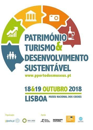"""Seminário """"Património, Turismo e Desenvolvimento Sustentável"""", 2018"""