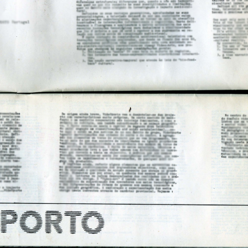 """Exposição """"#1 videoporto – anos 80"""" gnration, 2018"""