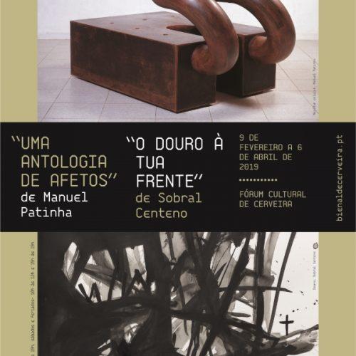 Exposições Manuel Patinha e Sobral Centeno, 2019