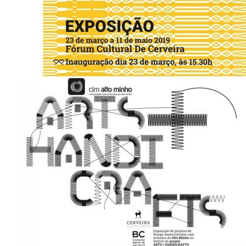 """Exposição """"Alto Minho Arts+Handicrafts"""", 2019"""