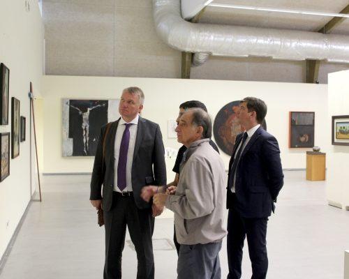 Visita embaixador Letónia, 2019