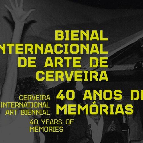 Livro 40 anos da Bienal Internacional de Arte de Cerveira, 2019