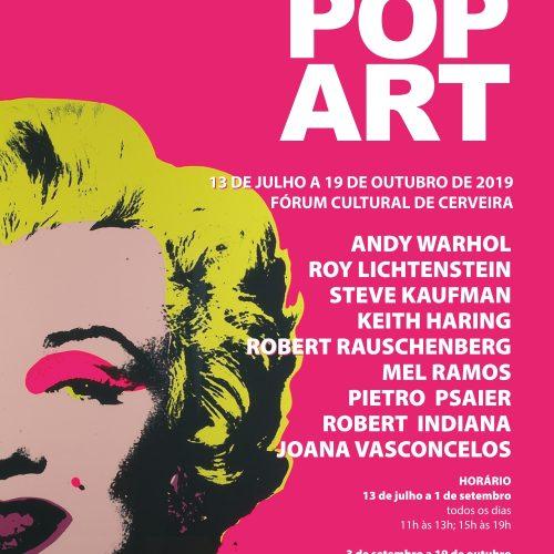 """Exposição """"Pure Pop Art"""", 2019"""