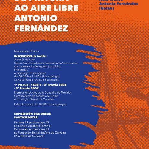 Concurso de Pintura ao Aire Libre António Fernández, 2019