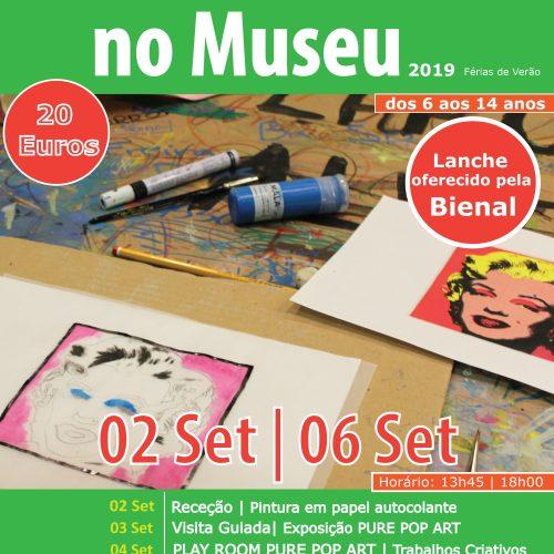 Férias Criativas no Museu - Verão 2019