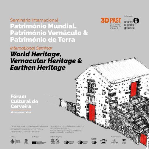 """Seminário Internacional """"Património Mundial, Património Vernáculo & Património de Terra"""", 2019"""