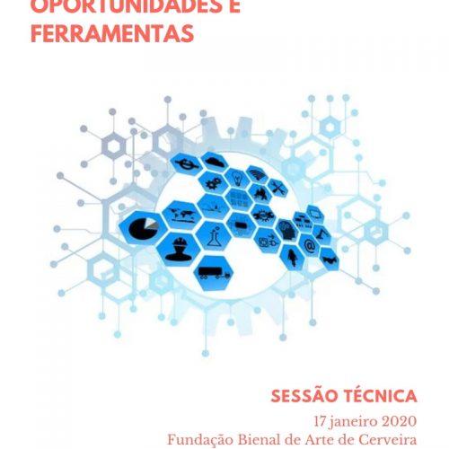 """Sessão Técnica """"Design de Projetos Culturais: Oportunidades e Ferramentas"""", 2019"""