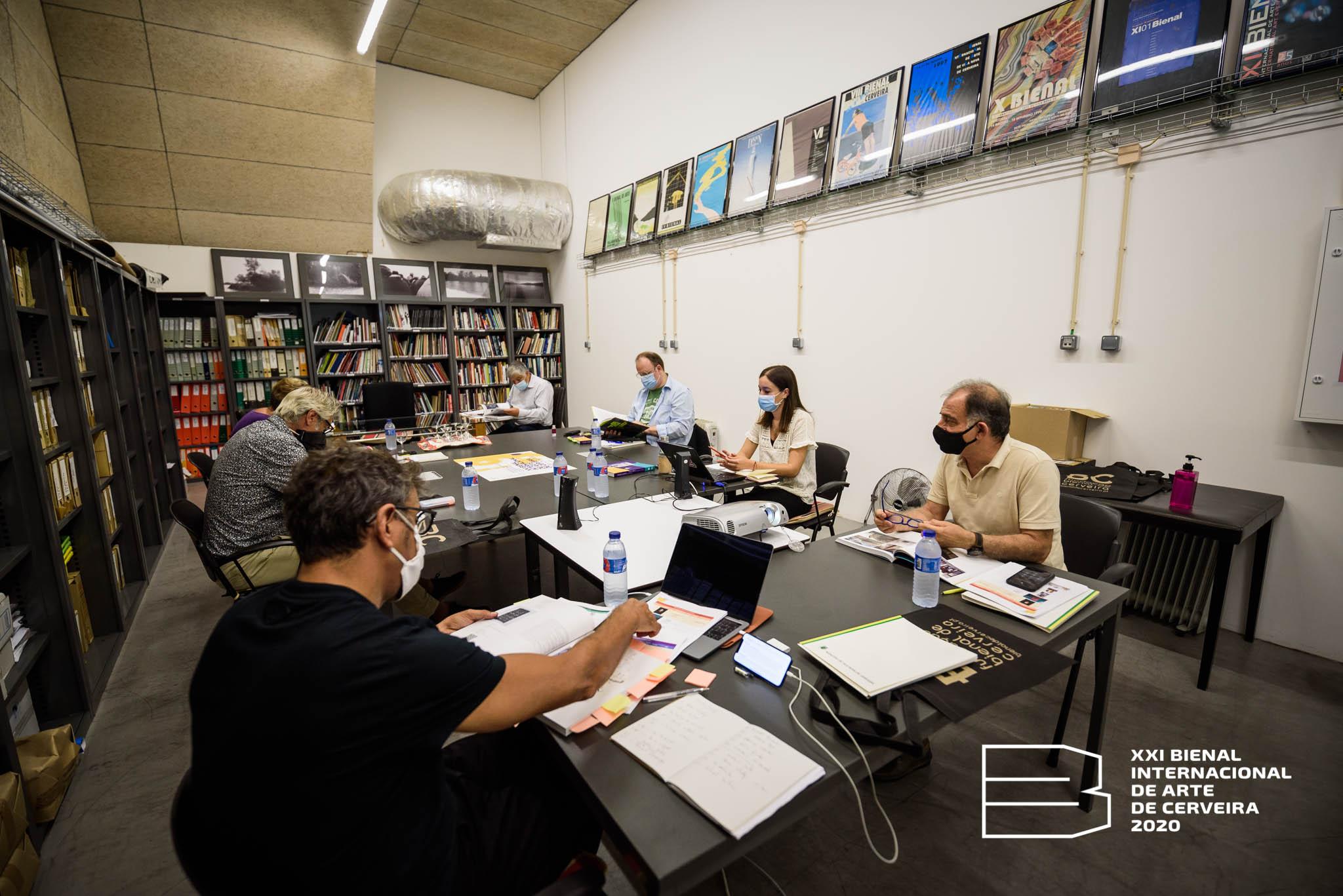 Júri de Premiação da XXI Bienal Internacional de Arte de Cerveira