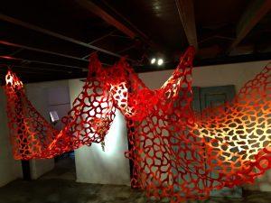 Kyria Oliveira Ruinas, 2019–20 Instalação 280x400x400 cm